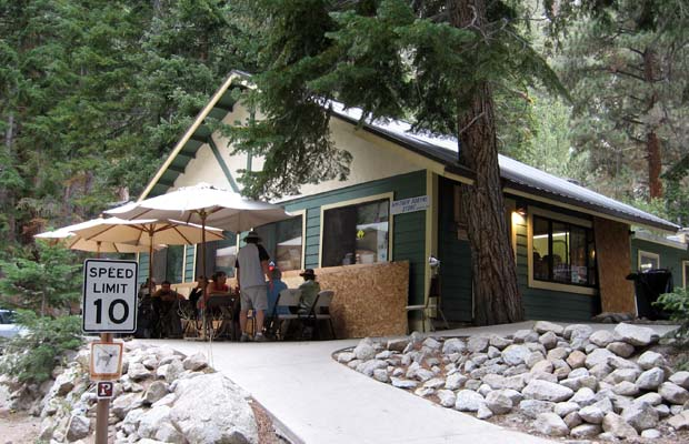The Whitney Portal Store ... what a great place to finish!