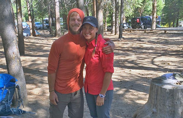 VVR hiker campground neighbors: Eric and Emily from Toronto [2015]