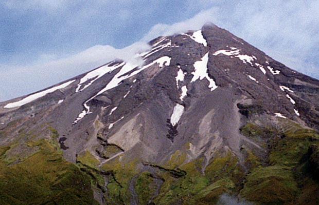 The eastern face of Mt. Egmont