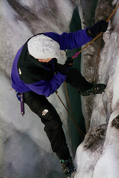 Crevasse extraction training for Peter