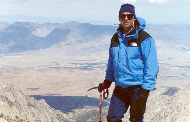 May 14, 1990: Me on the summit of Whitney - for the second time.