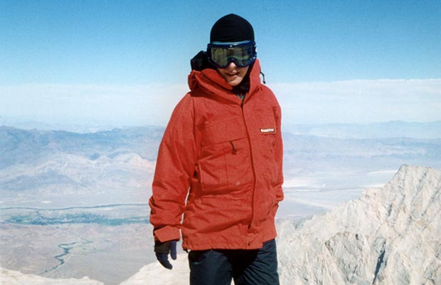 August 11, 1993: Jordan triumphant on the summit of Mt. Whitney